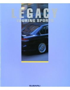 1993 SUBARU LEGACY TOURING SPORTS BROCHURE JAPANS