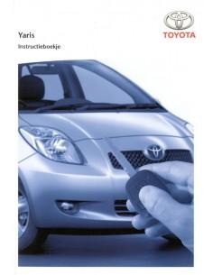 2005 TOYOTA YARIS INSTRUCTIEBOEKJE NEDERLANDS