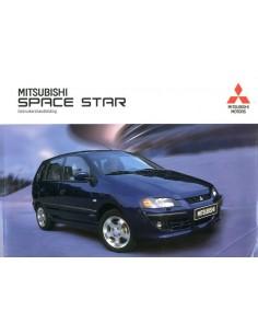 2002 MITSUBISHI SPACE STAR INSTRUCTIEBOEKJE NEDERLANDS