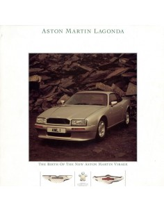 1988 ASTON MARTIN VIRAGE COUPE BROCHURE ENGELS