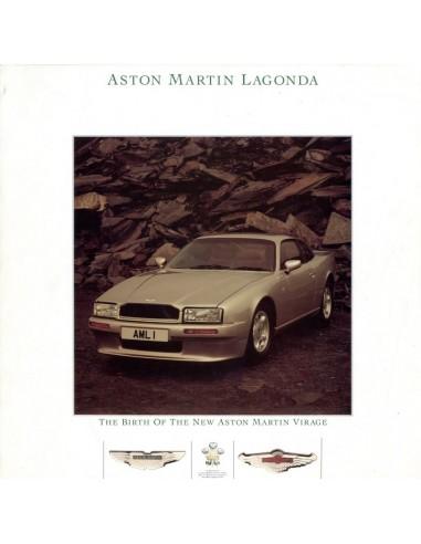 1988 Aston Martin Virage Coupe Brochure English