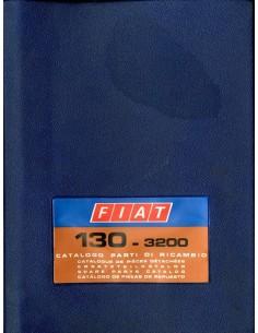 1973 FIAT 130 - 3200 ONDERDELENHANDBOEK