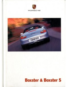 2001 PORSCHE BOXSTER S HARDCOVER BROCHURE ENGELS
