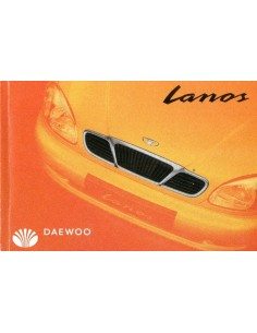 2000 DAEWOO LANOS INSTRUCTIEBOEKJE NEDERLANDS