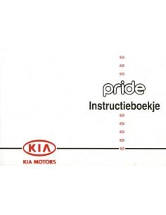 1995 KIA PRIDE INSTRUCTIEBOEKJE NEDERLANDS
