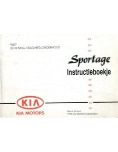1996 KIA SPORTAGE INSTRUCTIEBOEKJE NEDERLANDS
