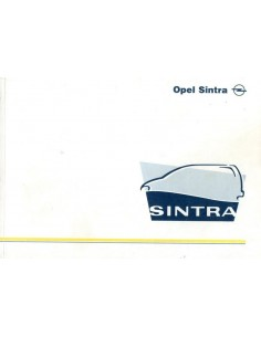 1997 OPEL SINTRA INSTRUCTIEBOEKJE NEDERLANDS