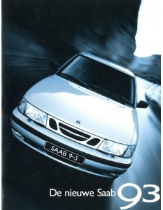 1998 SAAB 9-3 BROCHURE NEDERLANDS
