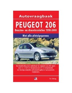 1998 -2000 PEUGEOT 206 BENZINE DIESEL VRAAGBAAK NEDERLANDS