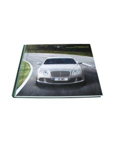2012 BENTLEY CONTINENTAL CONVERTIBLE GT W12 HARDCOVER BROCHURE ENGELS