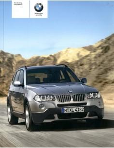 2006 BMW X3 INSTRUCTIEBOEKJE NEDERLANDS