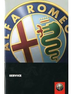 2001 ALFA ROMEO SERVICE HANDBOEK