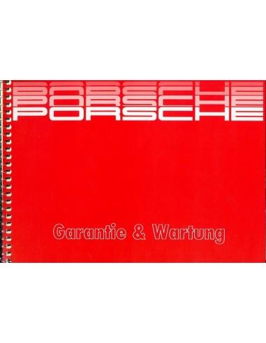 1987 PORSCHE GARANTIE & ONDERHOUD DUITS