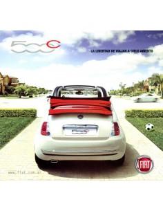 2011 FIAT 500 CABRIOLET BROCHURE SPAANS