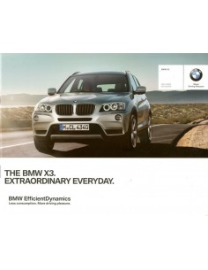 2013 BMW X3 BROCHURE ENGELS (INDIA)