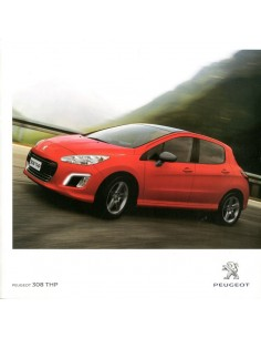 2012 PEUGEOT 308 THP BROCHURE PORTUGEES