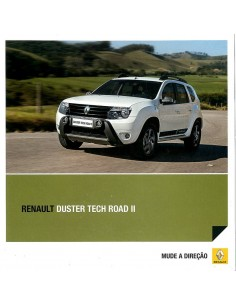 2013 RENAULT DUSTER TECH ROAD II BROCHURE PORTUGEES (BRAZILIE)