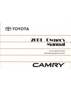 2001 TOYOTA CAMRY INSTRUCTIEBOEKJE ENGELS