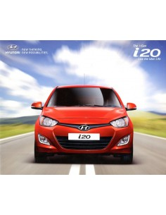 2014 HYUNDAI I20 BROCHURE ENGELS (INDIA)
