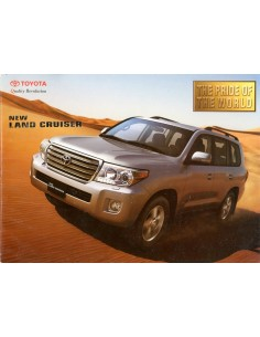 2014 TOYOTA NEW LAND CRUISER BROCHURE ENGELS (INDIEN)