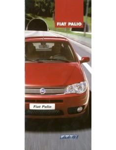 2004 FIAT PALIO BROCHURE PORTUGEES (BRAZILIË)
