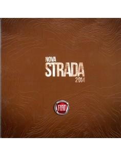 2014 FIAT NOVA STRADA BROCHURE PORTUGEES (BRAZILIË)