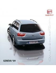 2009 SEAT GENEVE PERSMAP + CD