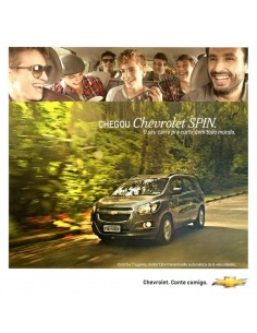 2012 CHEVROLET SPIN BROCHURE PORTUGEES (BRAZILIË)
