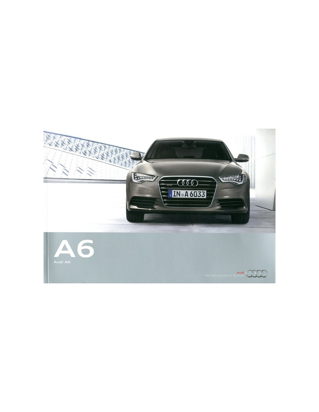 2014 audi a6 limousine brochure english india. Black Bedroom Furniture Sets. Home Design Ideas