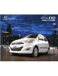 2014 HYUNDAI I10 BROCHURE ENGELS (INDIA1
