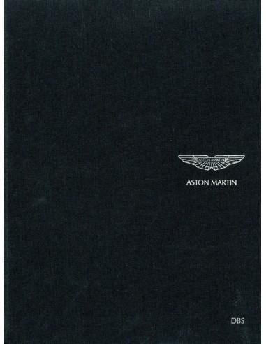 2007 ASTON MARTIN DBS HARDCOVER BROCHURE ENGELS