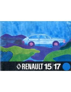 1975 RENAULT 15 & 17 INSTRUCTIEBOEKJE NEDERLANDS