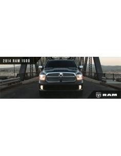 2014 DODGE RAM 1500 BROCHURE ENGELS