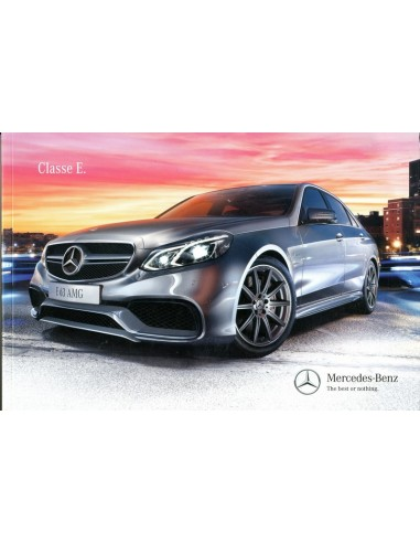 2013 mercedes benz e klasse brochure portuguese brazil. Black Bedroom Furniture Sets. Home Design Ideas