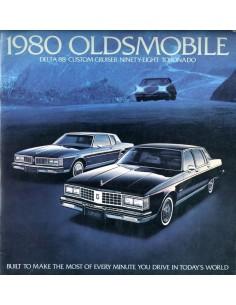 1980 OLDSMOBILE PROGRAMMA BROCHURE ENGELS