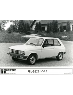1987 PEUGEOT 104 Z PERSFOTO