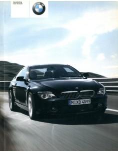 2003 BMW 6 SERIE INSTRUCTIEBOEKJE NEDERLANDS