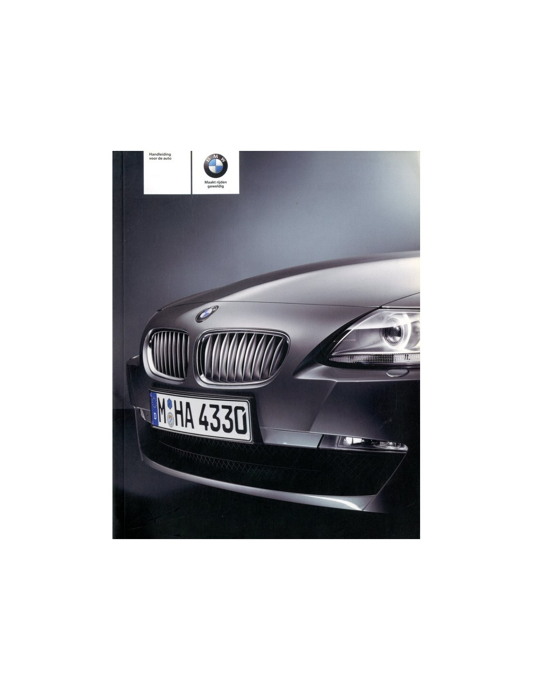 Bmw Z4 Blog: 2006 BMW Z4 BETRIEBSANLEITUNG NIEDERLÄNDISCH