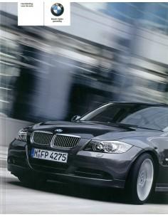 2005 BMW 3 SERIE SEDAN INSTRUCTIEBOEKJE NEDERLANDS