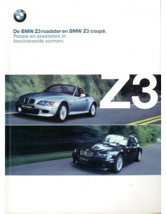 2000 BMW Z3 ROADSTER & COUPE BROCHURE NEDERLANDS