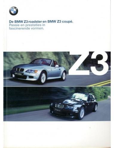 2000 Bmw Z3 Roadster Amp Coupe Brochure Dutch
