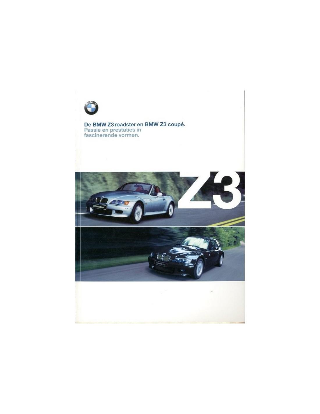 Bmw Z3 James Bond Edition For Sale: Bmw Z3 Brochure.2000 BMW Z3 ROADSTER COUPE BROCHURE DUTCH