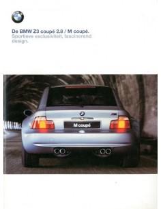 1998 BMW Z3 COUPE BROCHURE NEDERLANDS