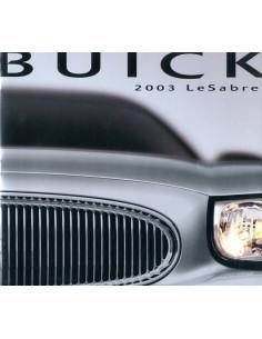 2003 BUICK LESABRE BROCHURE ENGELS
