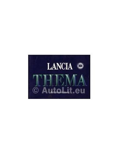 1985 LANCIA THEMA INSTRUCTIEBOEK DUITS