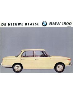 1964 BMW 1500 BROCHURE NEDERLANDS