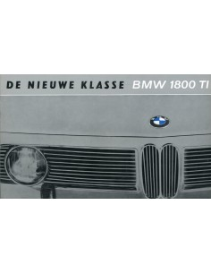 1964 BMW 1800 TI BROCHURE NEDERLANDS