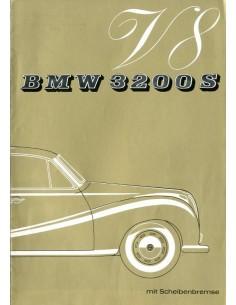 1962 BMW 3200 S V8 BROCHURE DUITS