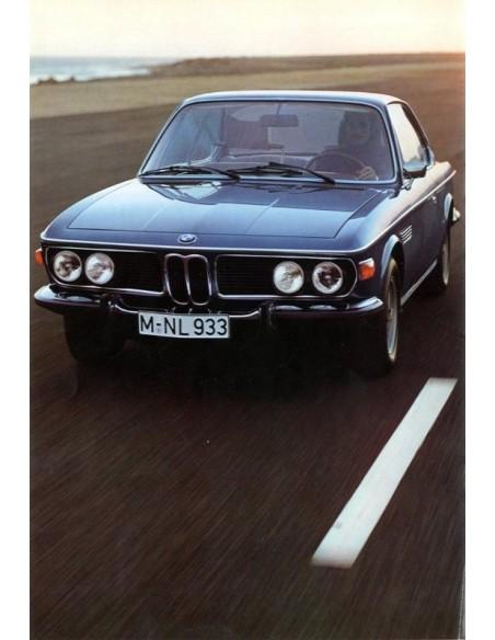 1974  BMW 3.0 CS CSI CSL BROCHURE NEDERLANDS