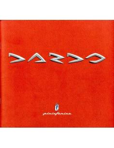 1998 PININFARINA DARDO PERSMAP ITALIAANS ENGELS